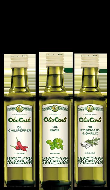 GX3 - Flavored Oils Trio